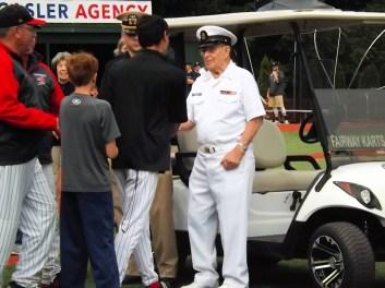 Clark Farnsworth, 38 year veteran of the United States Navy