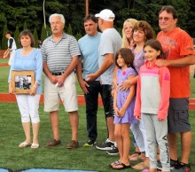 the family of Nick Auriemma