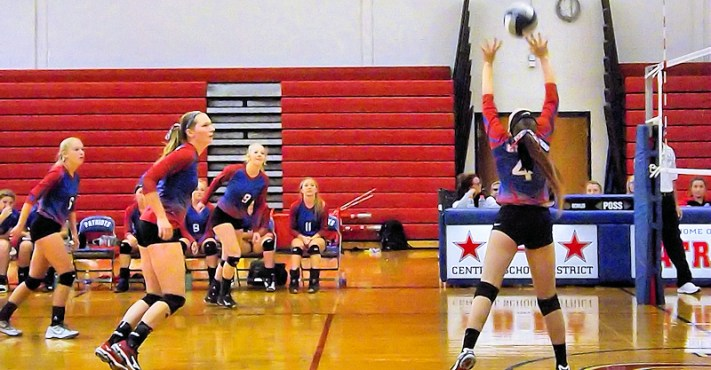 Adrienne Morreale sets the play