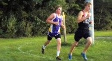 Trevor Dzikowicz racing with Nate Tabbert