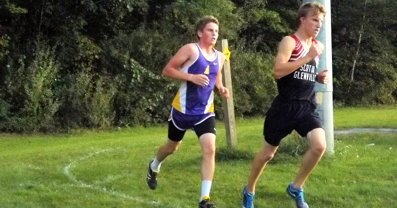 Dzikowicz leads AHS boys cross country team in Foothills opener