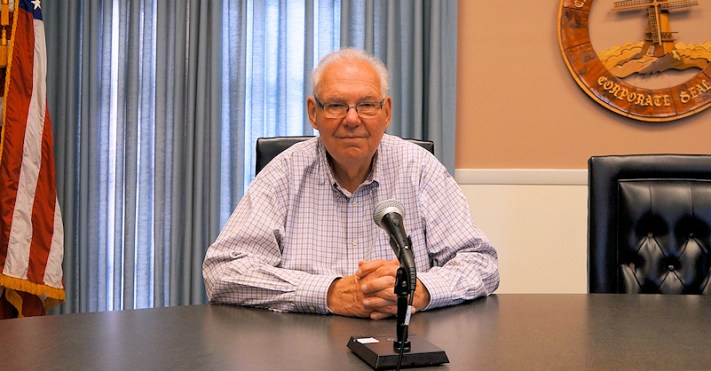 Paul Ochal, incumbent candidate for second ward alderman