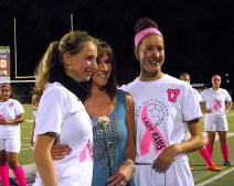 Lucia Liverio and Antonia May with their aunt Lynn Hisert