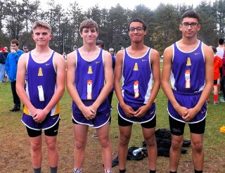 AHS cross country team