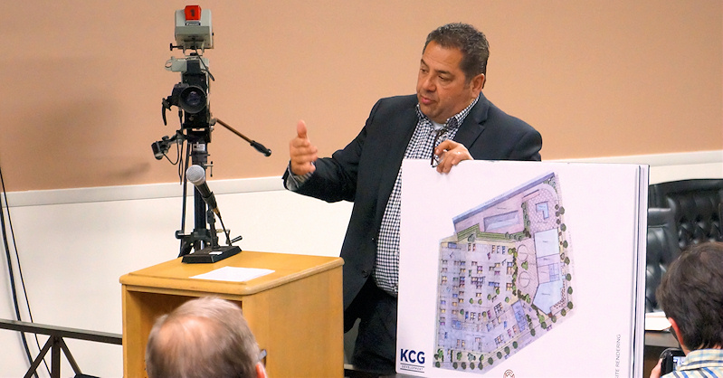 Planning commission approves Chalmers site plan after heated public comments