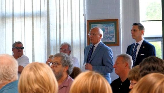 Congressman Paul Tonko and Assembyman Angelo Santabarbara