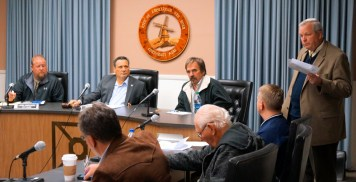 Town of Florida Supervisor Eric Mead, City of Amsterdam Mayor Michael Villa, members of the Town of Florida Board and Amsterdam Common Council, Amsterdam Corporation Counsel Bill Lorman