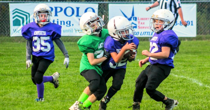 Little Giants football at Murray Field, behind Barkley Elementary School. Photo provided