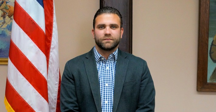 Patrick Russo, candidate for first ward alderman