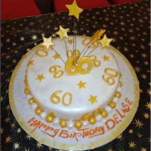 60th Birthday Cake - Online Gifts Delivery in Dubai UAE