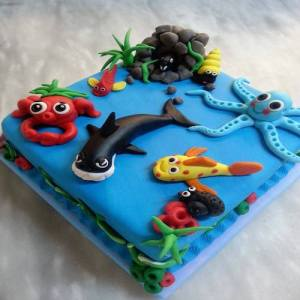 The Sea Shore Cake