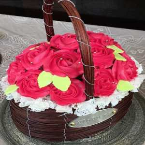 Edible Bouquet Cake 2 - SKUEDBCAK02 - Online Gifts Delivery in Dubai UAE