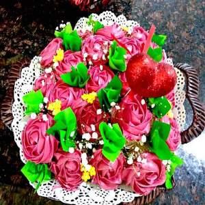 Edible Bouquet Cake 3