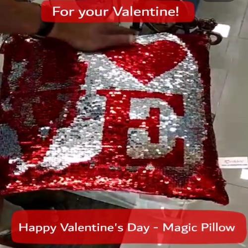 Magic pillow in Dubai