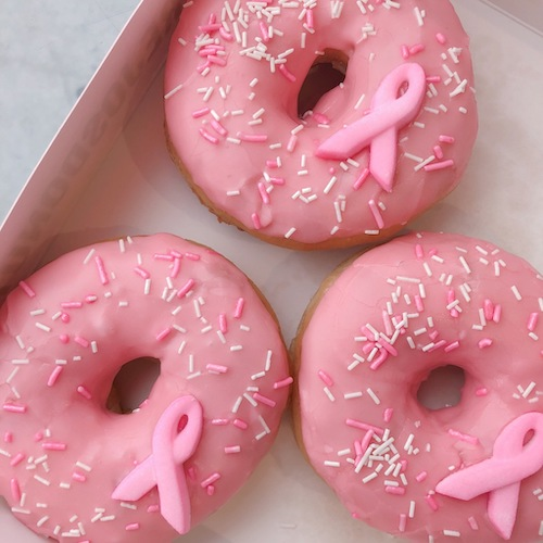 Breast Cancer Awareness Donuts in Dubai