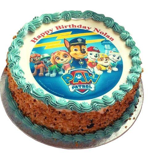 Paw Patrol Cake Photo Ras Al Khaimah UAE Delivery