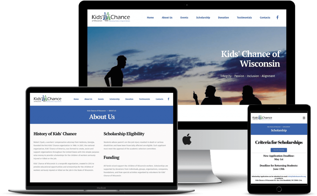 kidschanceofwi-project-website