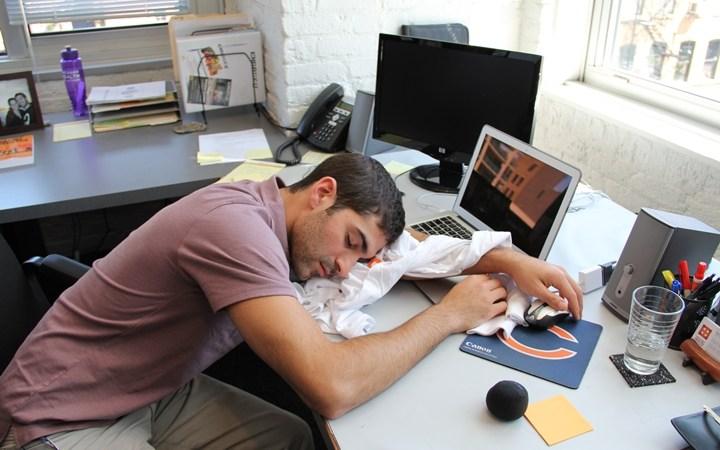 mengantuk semasa bekerja