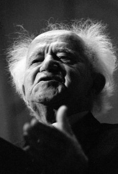 David Ben-Gurion. 'I had photographed Israel's founding father countless times. That day he seemed to be carved out of granite; a sculpted prophet. His life's task had been fulfilled. These were his last years, but he had still not lost his great energy, his vision'