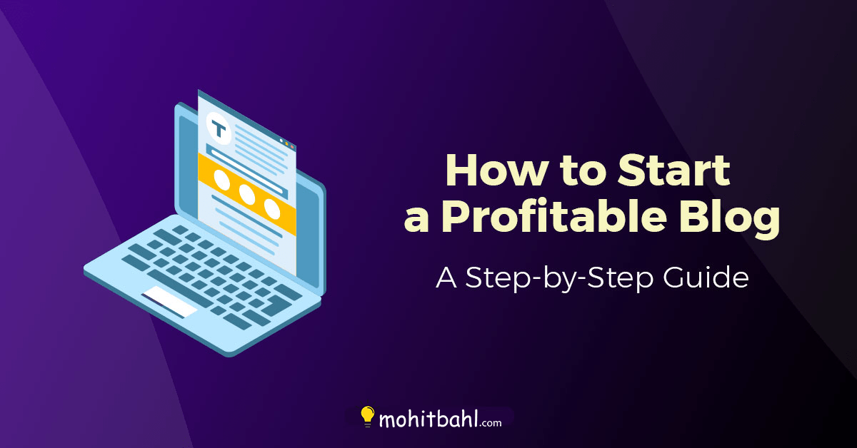 How to start a profitable blog in 2021