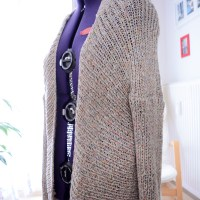 Kimono killed the radio star: Diese Strickjacke rockt!