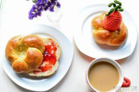 Moehrchen essbarer Eierbecher Osterbrunch und Marmelade