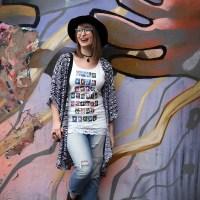 DIY T-Shirt-Upcycling mit Sofortbild-Motiv | meinfeenstaub
