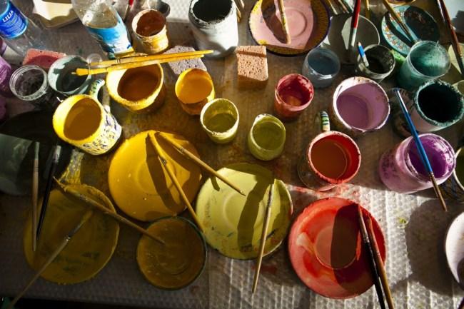 Sonia Savio: Making Majolica series