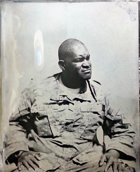 Ed Drew: Combat Tintype Series - Courtesy of the Robert Koch Gallery