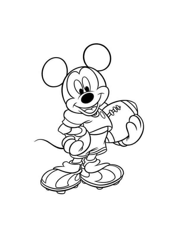 Раскраски Микки Маус и друзья - распечатать в формате А4
