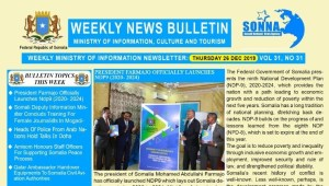 Weekly News Bulletin Vol 31