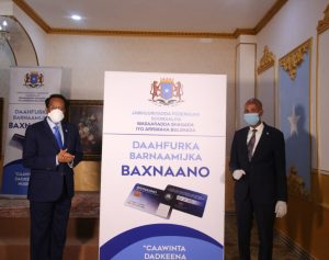 Somali President Unveils Social Safety Net Program to Reduce Poverty and Improve Human Capital