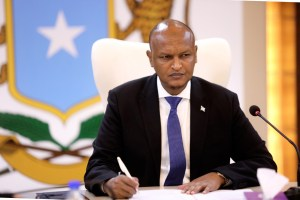 President Farmaajo appoints Deputy PM Mahdi Mohamed Gulaid caretaker PM.
