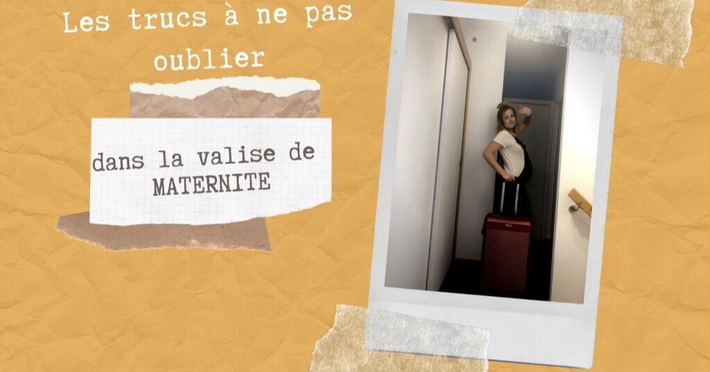Ma valise de maternité | moicestclo