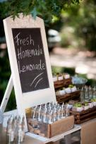 Moi Decor Hire's MD060d chalkboard used for signage at a lemonade stand