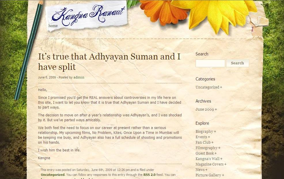 kangana blog cut