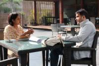 Scriptwriter Urmi Juvekar's script mentoring session with a participant