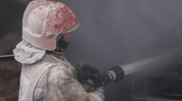 В Петродворцовом районе ночью загорелся частный дом ...