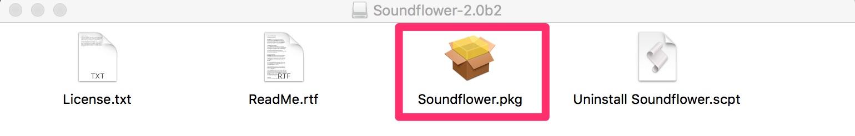 soundflower pkg