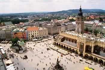 Cracovie - La place du marché