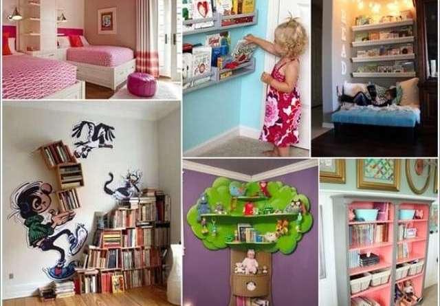Những mẫu kệ sách khiến con nghiện đọc sách ngay từ bé