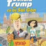 Lê Hoàng dùng tên Tổng thống Trump trong sách mới để gây chú ý?