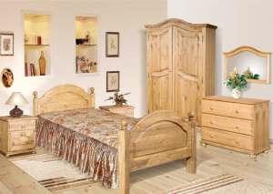 Достоинства мебели из массива: сосна