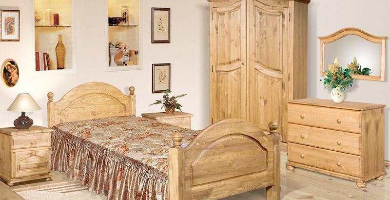 Мебель из массива сосны