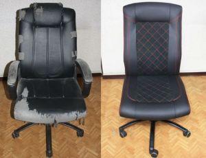 Мебель не может быть вечной. Ремонт кресла