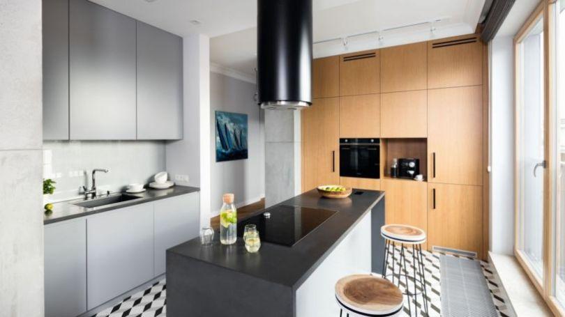 модный дизайн кухни