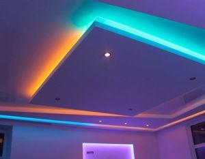 Как выбрать алюминиевый профиль для парящего натяжного потолка