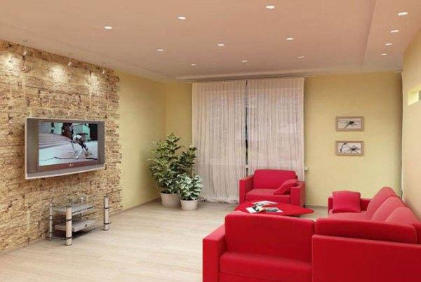Идеи дизайна маленькой кухни | дизайн интерьера гостиной ...