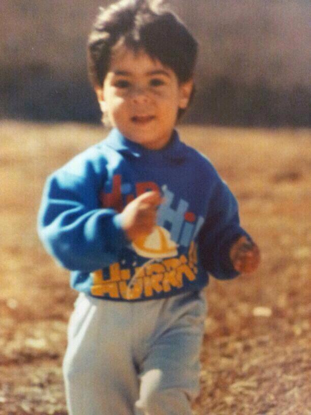Moisés Delgado pequeño