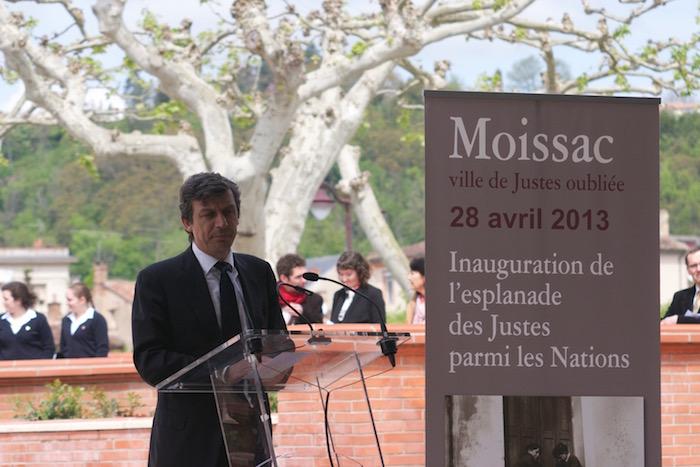 David Assouline à Moissac en avril 2013
